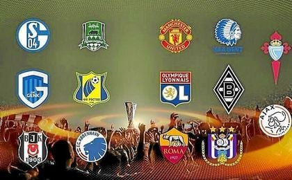 Eliminatorias de octavos de final de la Europa League.