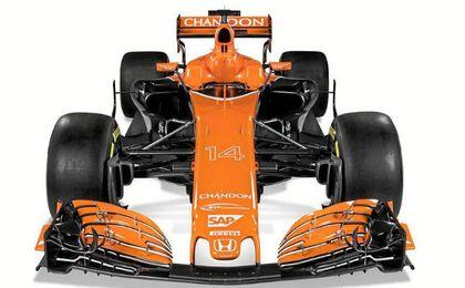 Así luce el nuevo monoplaza de Alonso, el MCL32.