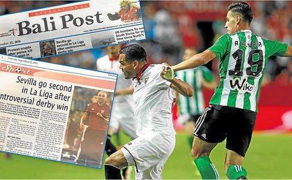 Mercado marcó en la primera vuelta y Álex Alegría hizo lo propio, pero su gol fue anulado.