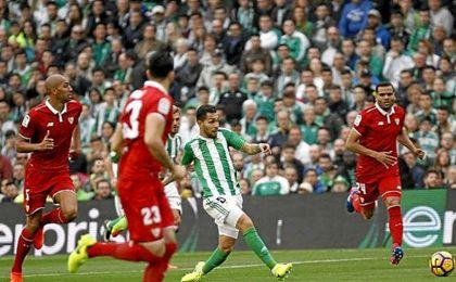 Así te contamos en directo el Real Betis-Sevilla F.C. (1-2)