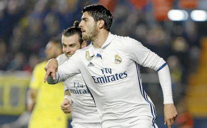Morata culminó la remontada blanca con el 2-3.