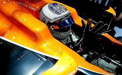 Alonso comienza la pretemporada con serios problemas en el McLaren