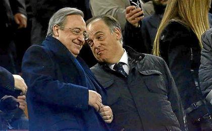 Florentino Pérez se queja a LaLiga por el trato televisivo hacia el Real Madrid