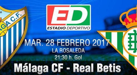 Málaga-Real Betis: Apagar el fuego o avivar la crisis