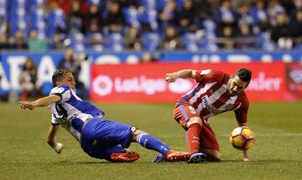 Deportivo 1-1 Atlético: Griezman salva un punto en el debut de Mel en Riazor