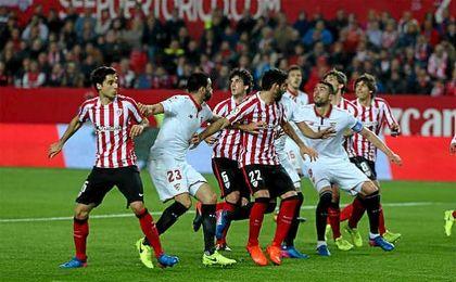 Sevilla F.C. 1-0 Athletic: Pragmatismo y sufrimiento para seguir en la pelea