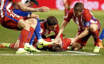 Torres sufre un traumatismo craneoencefálico y pasará la noche en observación