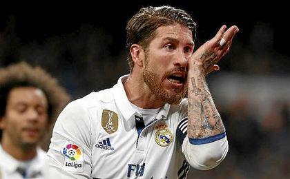 Ramos lanza un mensaje a Piqué tras el partido ante Las Palmas