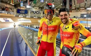 Ignacio Ávila y Joan Font, campeones del mundo en persecución