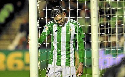 Sanabria marcó, pero también falló varios goles.