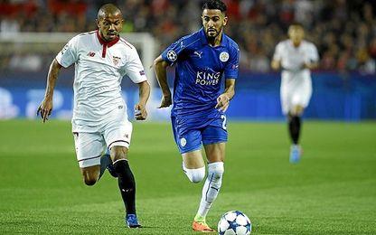 Ante el Leicester, Mariano no tuvo su mejor noche.