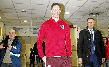 Torres abandona el hospital tras el choque de ayer