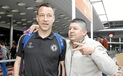 Terry se ha encontrado con una desagradable sorpresa.