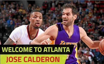 Calderón ya es jugador de los Atlanta Hawks. @ATLHawks.