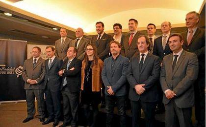 El Sevilla, entre los premiados en la Gala de la AEPD en Valladolid
