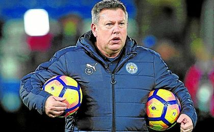 Shakespeare, técnico interino del Leicester tras la destitución de Ranieri.