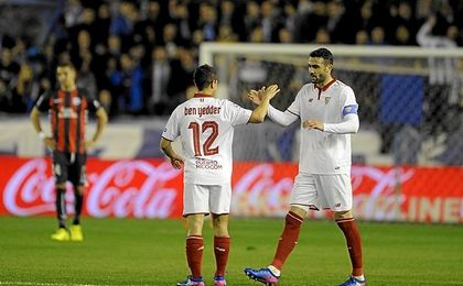 El Sevilla ha cedido este lunes en el pulso por LaLiga.