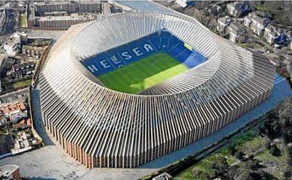 Así será el nuevo Stamford Bridge, que tendrá un aforo para 60.000 personas.