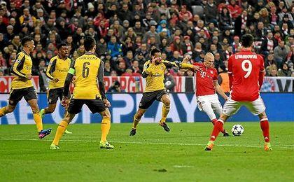 El Arsenal busca la machada frente al Bayern