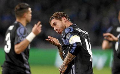 Ramos fue otra vez el héroe blanco.