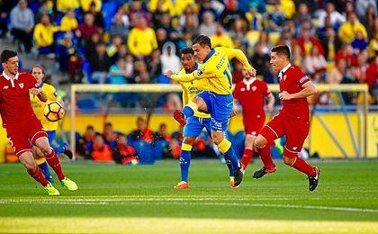 Roque Mesa estuvo muy cerca de jugar en el Sevilla.