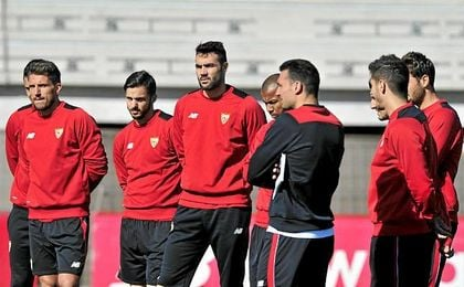 El Sevilla prepara la visita del Leganés tras el último traspiés