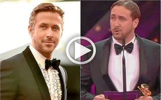 Un cocinero se hace pasar por Ryan Gosling y recibe un premio por ´La La Land´