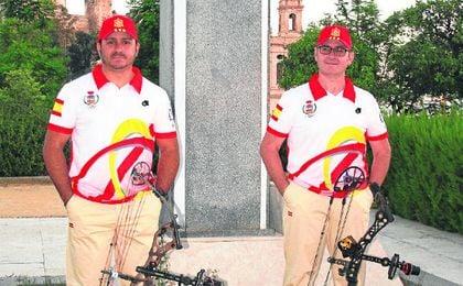 En la imagen, Francisco José Toro y Andrés Barroso, favoritos para llevarse la prueba de Morón.