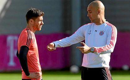 """Guardiola, sobre Xabi Alonso: """"Volverá pronto como entrenador"""""""