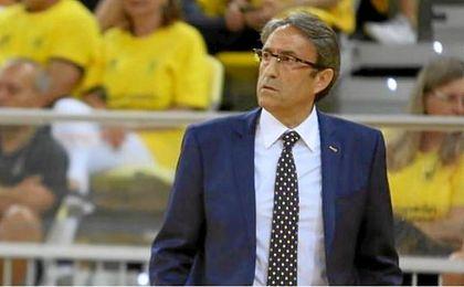 Luis Casimiro, entrenador del Herbalife Gran Canaria.
