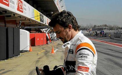 """Alonso: """"Tenemos que mejorar y espero una fuerte reacción del equipo"""""""