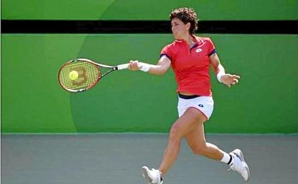 Carla Suárez cae en su debut en Indian Wells