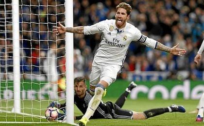 Real Madrid 2-1 Betis: Sergio Ramos y Mateu Lahoz salvan al Madrid