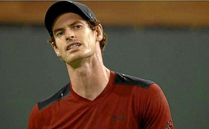 Andy Murray cae eliminado en Indian Wells