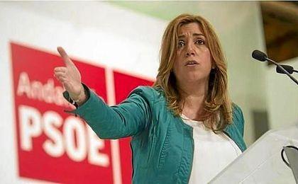 La presidenta de la Junta de Andalucía, Susana Díaz.