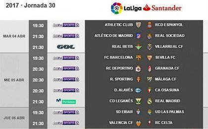 Ya hay horario para la visita del Sevilla al Camp Nou