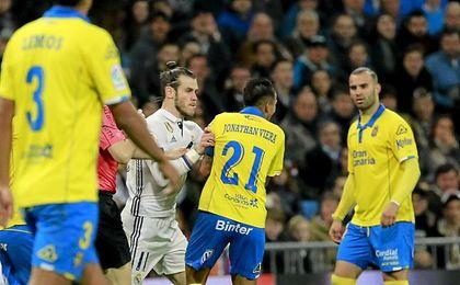 La imagen que provocó la expulsión de Bale.