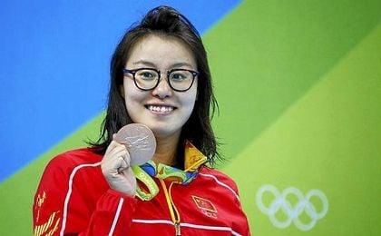 Fu Yuanhui contra los acuarios