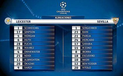 EN DIRECTO | Leicester City-Sevilla FC