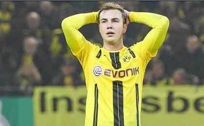 Mario Götze no volverá a jugar hasta la próxima temporada