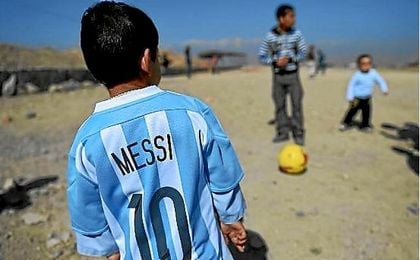 Messi exige el fin de la guerra.