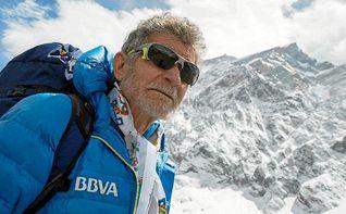 Carlos Soria: ´Es la quinta vez que lo intento y vamos a llegar a la cumbre´