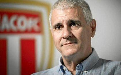 El director deportivo del Mónaco, Antonio Cordón.