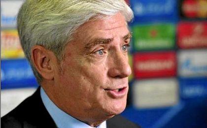 El gerente del Atlético de Madrid, Clemente Villaverde. ATM.