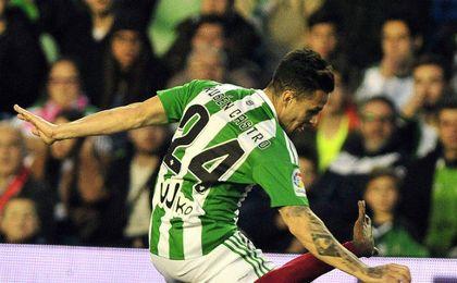 Rubén marcó algo más de dos meses después.