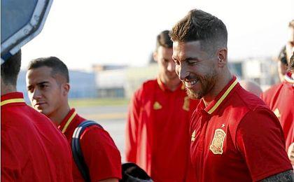 Ramos habla de su relación con piqué.