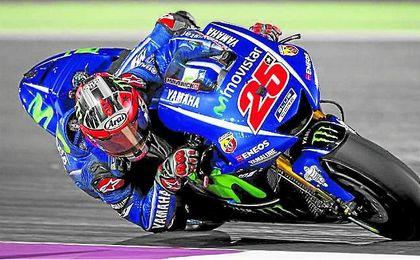 Maverick Viñales ha causado sensación durante la temporada. Yamaha.