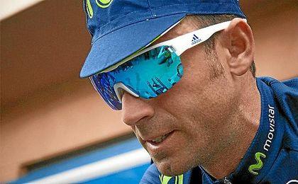 Valverde es el primer líder de la Volta a Catalunya.