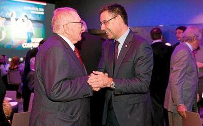 """Bartomeu: """"Montal fue presidente en años complejos"""""""