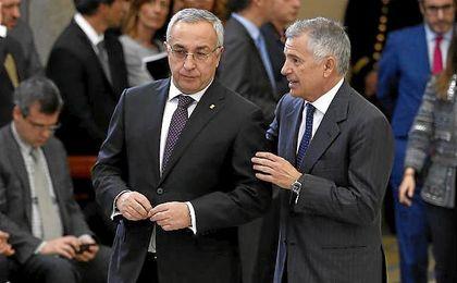 Los Reyes de España entregan los Premios Nacionales del Deporte. En la imagen, Alejandro Blanco y Samaranch.